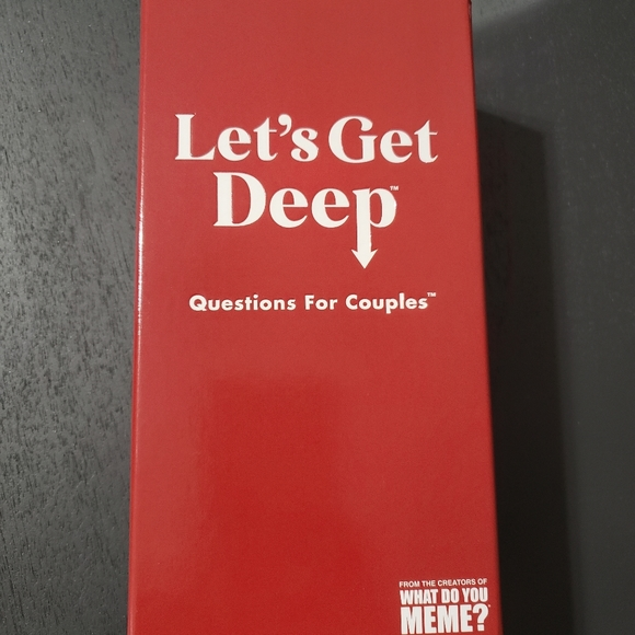 Let's Get Deep adult party game